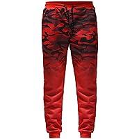 Pantalones Deportivos Hombres SUNNSEAN Print Camuflaje de Moda Casual Suave  Cool Cuerda para Fiesta Deportes Gimnasio 91dab7056456