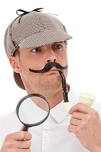 Smiffys 50990 Detektiv-Set, Herren, mehrfarbig