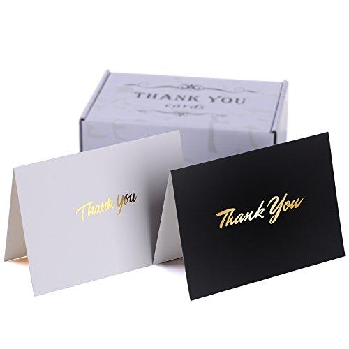 Tarjetas agradecimiento blanco sobres - perfecto bodas