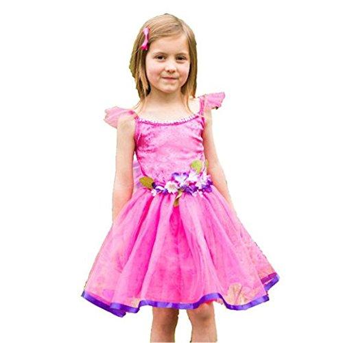 Amscan Kleid Up fwfc6Blume fairy-cerise Kleid bis, Mädchen, nicht massiv Farbe, 6–8Jahre