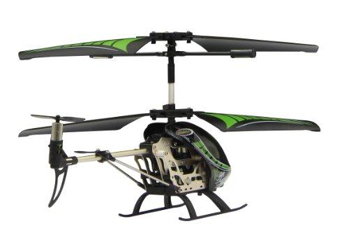 Jamara 038150 - Gyro V2 2,4G - Turbo, flexible Rotorblätter mit Winglets, robustes Aluchassis, Motorschutz bei blockierten Rotorblättern, welchselbarer LiPo-Akku, Licht ein / aus, Demomodus - 3