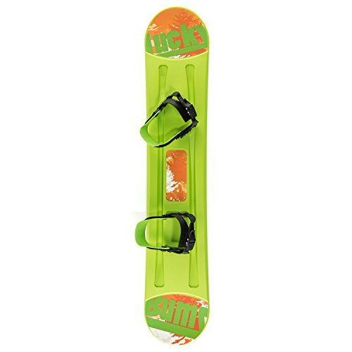 lucky-bums-kids-plastic-snowboard-green-95-cm