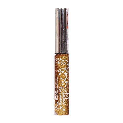 Blue Vessel Make-up Wasserdichte Eye Liner Pencil Stift Glänzenden Liquid Eyeliner Glitzer (d)