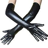 Woisha Sexy Farbe Sexy Schwarze Langarm Handschuhe Ds Pole Dance Performance Black