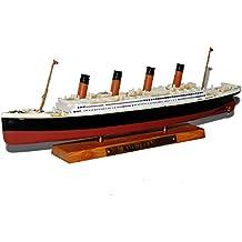 Titanic Großes Modellschiff Aus Holz Nachgebaut Maritime Dekoration