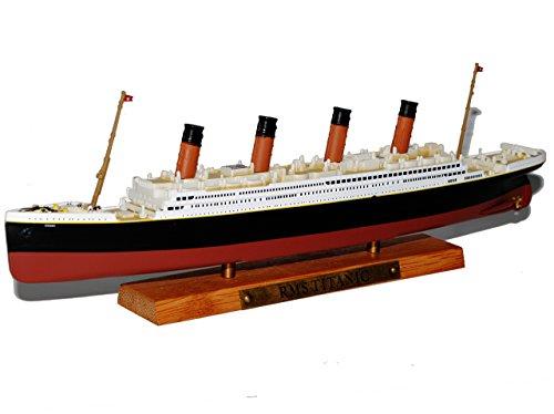 Atlas RMS Titanic Luxusdamper Schiff 1/1250 Schiff Modell (Titanic Boot Modell)