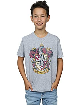 Harry Potter Niños Gryffindor Distressed Crest Camiseta