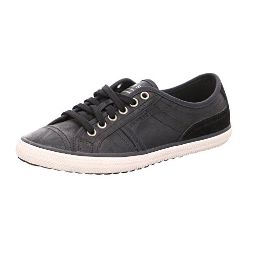 ESPRIT Damen Riata Lace Up Sneakers 001°black