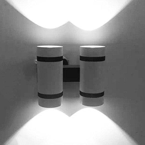 12W LED Lampe de Mur Moderne Chevet Chambre Salon Balcon Lampe allée escaliers Mur Lampe, White Light