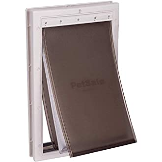 PetSafe Extreme Weather Pet Door Large, Easy Install, Insulating, Weather Proof, Energy Efficient, 3 Flap System