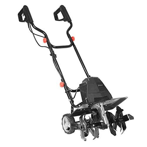 BRAST elektrische Motorhacke 1500 Watt 40cm Arbeitsbreite 20cm Arbeitstiefe Ackerfräse Kultivator Gartenfräse Elektro Hacke