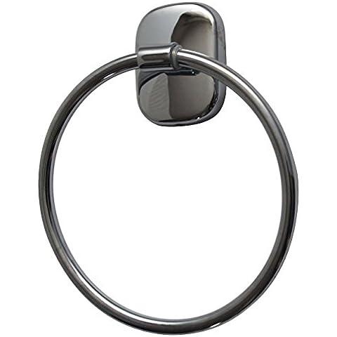 Toalla de anillo Serie Julia latón cromado/hantuchablage baño accesorios