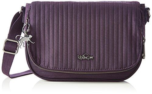 Kipling Earthbeat S, Borsa a Tracolla Donna Viola (L37 Craft Purple)