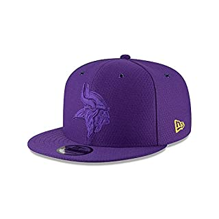 New Era Minnesota Vikings 9fifty Snapback NFL 2018 Color Rush Purple - One-Size