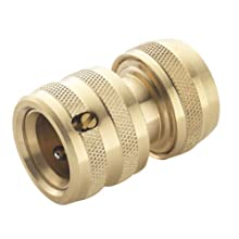 Spear & Jackson BWF1 Female Brass Hose Connector, Bronze, 1/2-Inch