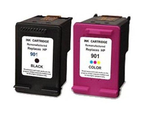 J4540 Drucker Officejet Hp (UCI 2x Tintenpatronen kompatibel zu HP 901XL für HP Officejet 4500 J4500 J4524 J4535 J4540 J4550 J4580 J4585 J4600 J4624 J4660 J4680 G510a G510n)