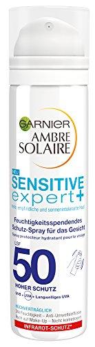 Garnier Sensitive expert Feuchtigkeitsspendendes Schutz-Spray für das Gesicht, 2er Pack (2 x 75 ml)