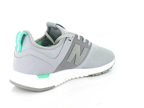 New Balance Damen WRL 247 Schuhe Grau Grün