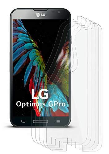 5X LG E986 Optimus G Pro | Schutzfolie Matt Display Schutz [Anti-Reflex] Screen Protector Fingerprint Handy-Folie Matte Displayschutz-Folie für LG Optimus G Pro Displayfolie (Screen Optimus Lg Pro Protector)