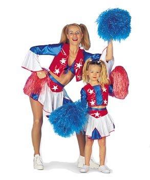 (Stekarneval Kinder-Kostüm Cheerleader, Gr. 140)