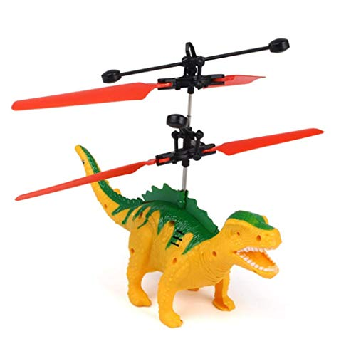 TAOtTAO Hand Fliegen Dinosaurier LED Mini Induktion Suspension -
