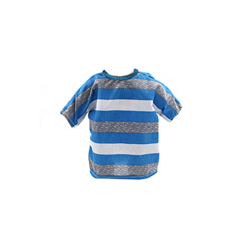 C2K Blue Stripe Dress Clothes for 18'' American Girl Doll