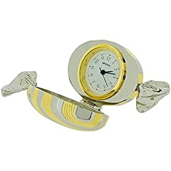 GTP Unisex Novelty Collectors Gold & Silver 2 Tone Sweet Clock IMP1008