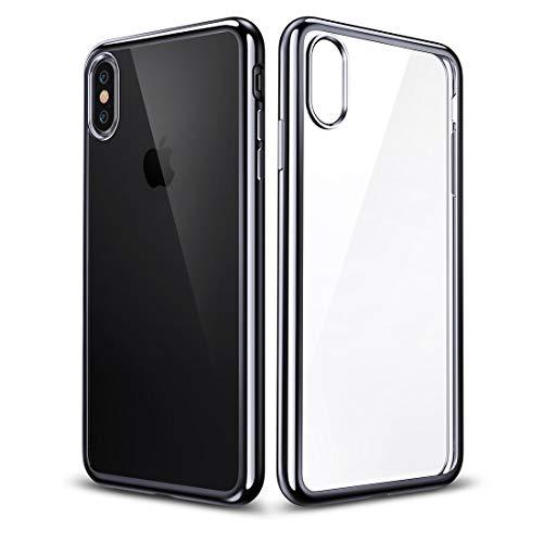 Schütze Dein iPhone, Essential Twinkler Series Ultra-dünnen Transparenten Weichen TPU Case für iPhone X Für iPhone Handy. (Großauswahl : Ipxg0233b)