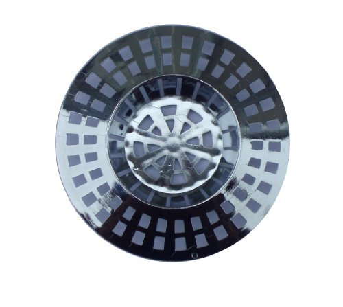 1-x-sink-cover-guard-stainless-steel-effect-plug-hole-strainer-cover
