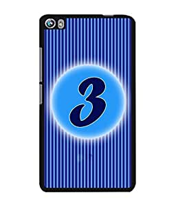 Fuson 2D Printed Numerology Designer back case cover for Micromax Canvas Fire 4 A107 - D4220