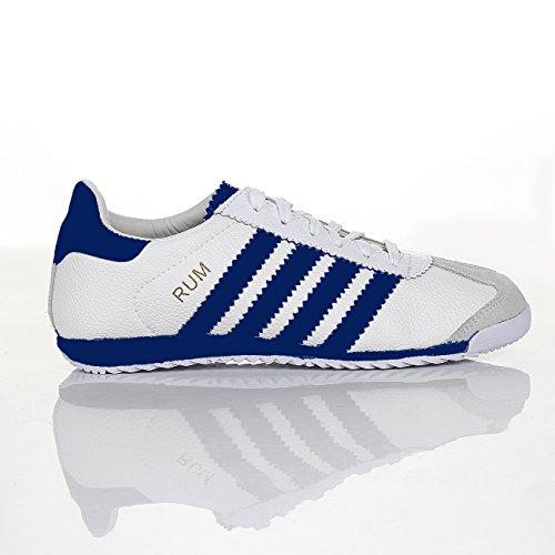 Shoes Click , Baskets mode pour homme blanc/bleu