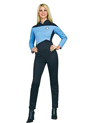 Scientific Kostüm Blue Star Trek The Next Generation Frauen