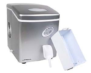 Jago Macchina ghiaccio produttore macchina cubetti di ghiaccio ice maker colore grigio
