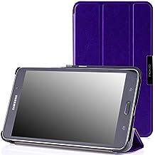 MoKo Samsung Galaxy Tab 4 7.0 / Tab 4 Nook 7 2014 Funda - Ultra Slim Ligera Smart-shell Funda para Samsung GALAXY Tab 4 7.0 Pulgadas Tableta, FM VIOLETA (NO va a caber el Tab 3 7.0)