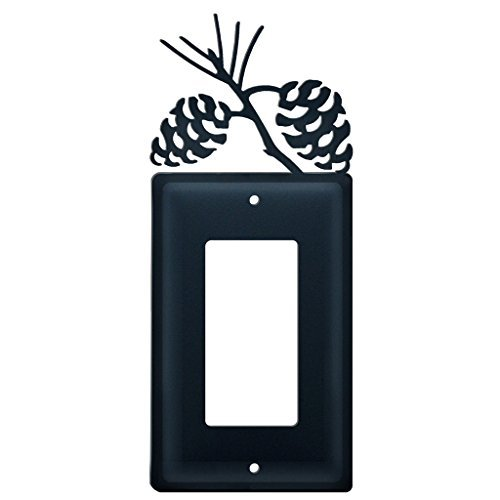 Pine Cone Light Switch Cover by Village Wrought Iron