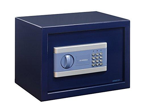 Arregui - Caja fuerte electrónica de sobremesa color azul