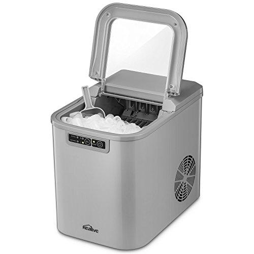 Unold 48955 Built-in//freestanding ice cube maker 150W Negro M/áquina productora de hielo 150 W, 350 mm, 295 mm, 290 mm, 9,8 kg Acero inoxidable m/áquina de cubo de hielo