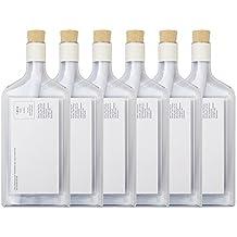 Flaschenpost, Transparent, Set 6Stk.