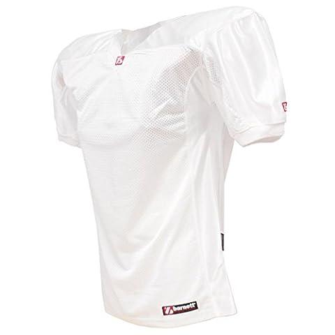 barnett FJ-2 maillot de football américain us match blanc S