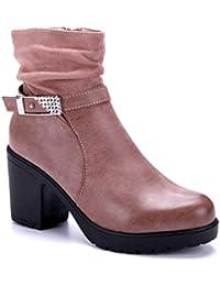 1cf717f572d3a1 Schuhtempel24 Damen Schuhe Pantoletten Sandalen Sandaletten flach Zierkette
