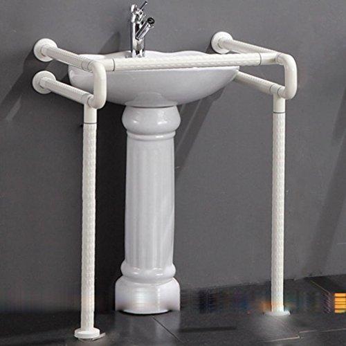 Waschen-Becken mit Sockel WC Becken deaktiviert antibakterielle barrierefreie Geländer rutschen die Badezimmer Waschbecken Nylon Handläufe , yellow