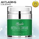 Retinol Feuchtigkeitscreme Crème-2.5% Retinol anti falten/anti aging crème für gesicht und augen. Natürliche