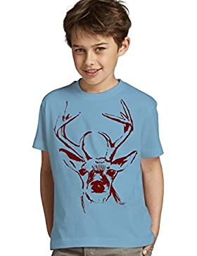 Kinder Jungen kurzarm Trachten T-Shirt Outfit zum Volksfest Oktoberfest Wiesn :-: Geburtstagsgeschenk Kids :-:...
