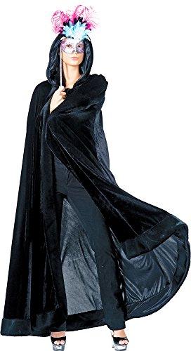 Das Kostümland Venezianischer Umhang mit Kapuze - ()