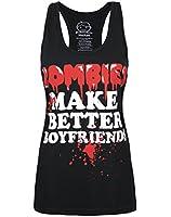 Goodie Two Sleeves Zombies Make Better Boyfriends Women's Vest