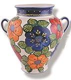 Campina, Blumentopf 24 cm, Wandtopf, Hängetopf, Spanische Keramik, handbemalt