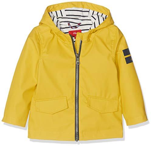 s.Oliver Baby-Jungen Mantel 59.903.52.6962 Gelb (Yellow 1470), Herstellergröße: 86