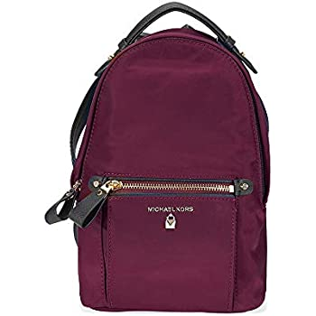 093ec24af2c9 Michael Kors Women Nylon Kelsey Backpack Handbag, Black (Black ...
