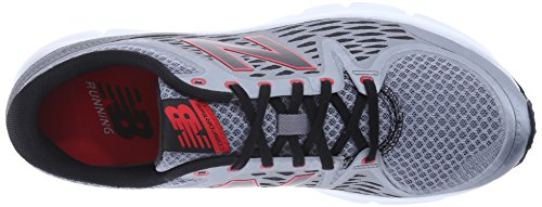 New Balance Men's M775V2 Running Shoe Grey / Red