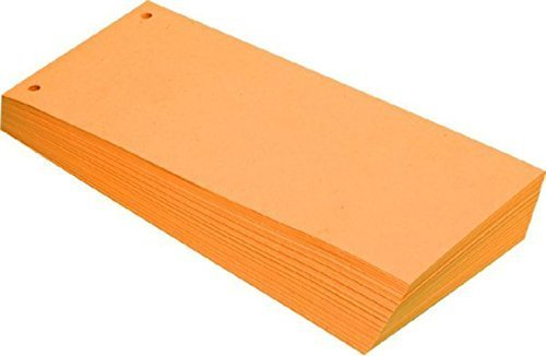 Strisce divisorie in colori assortiti 10,5 x 24 cm Orange